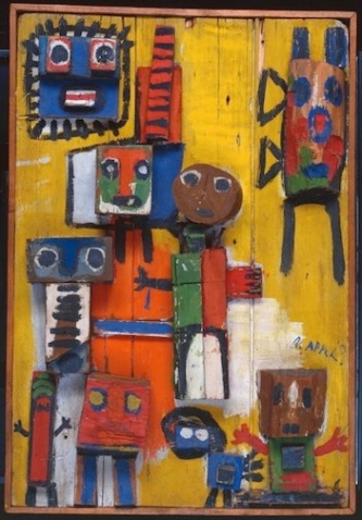 Questioning Children 1949 by Karel Appel 1921-2006