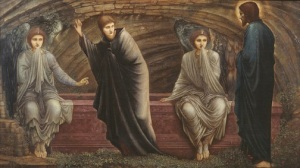 The Morning of the Resurrection 1886 by Sir Edward Coley Burne-Jones, Bt 1833-1898