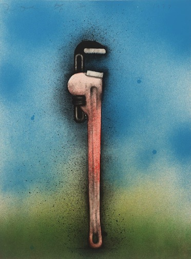 Big Red Wrench in a Landscape 1973 Jim Dine born 1935 Presented by the artist 1980 http://www.tate.org.uk/art/work/P02529