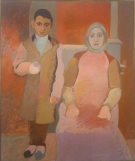 Arshile Gorky_The Artist and His Mother