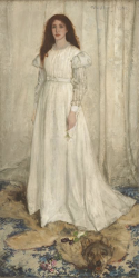 James McNeill Whistler_Symphony in White No1