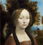 Leonardo da Vinci_Ginevra deBenci